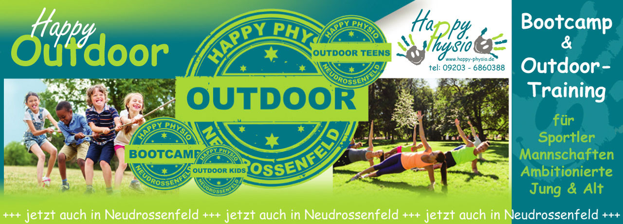 outdoor training neudrossenfled Happy Physio